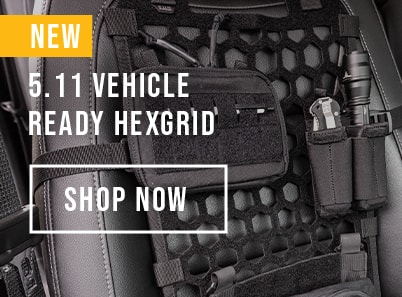 image of 5.11 vehicle ready hexgrid