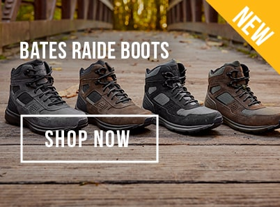 Image of Bates Raide Water Proof Side Zip Boots in black