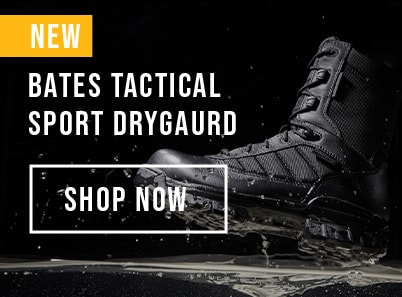 image of black pair of Bates tactical sport dryguard
