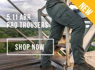 Man wearing 5.11 Tactical ABR Pro Trousers