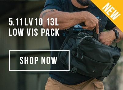 image of a 5.11 tactical LV10 13 litre low vis pack