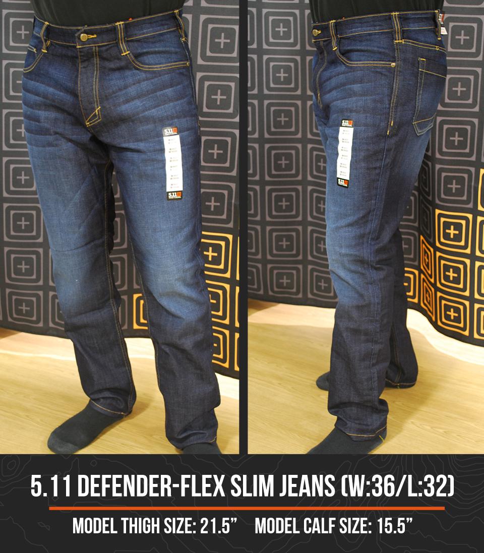 5.11 Defender Flex Slim Jeans